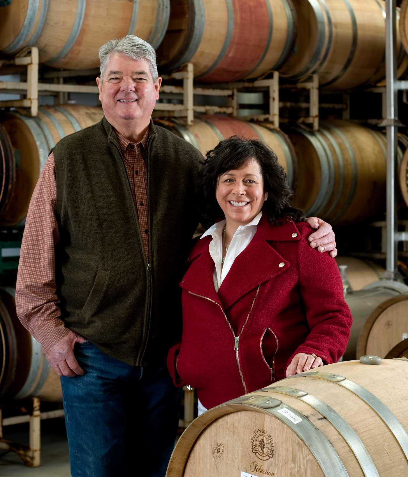 Brad and Lisa Warner